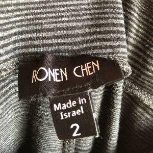 Ronen Chen Skirts - Ronan Chen draped jersey midi skirt